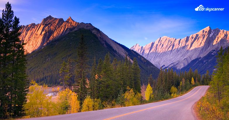 เทือกเขาร็อกกี้ เขต Alberta ประเทศแคนาดา