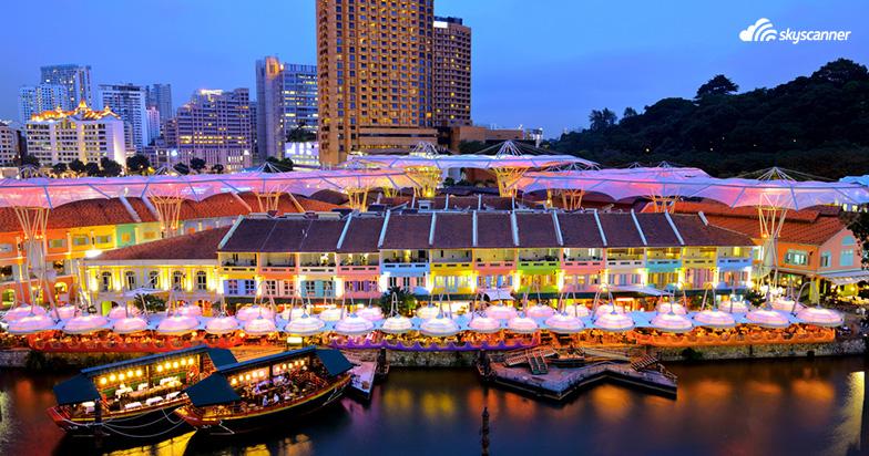 Clarke Quay สิงคโปร์