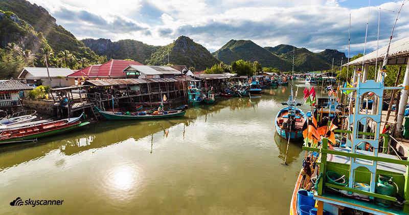 หมู่บ้านประมงที่ปราณบุรี