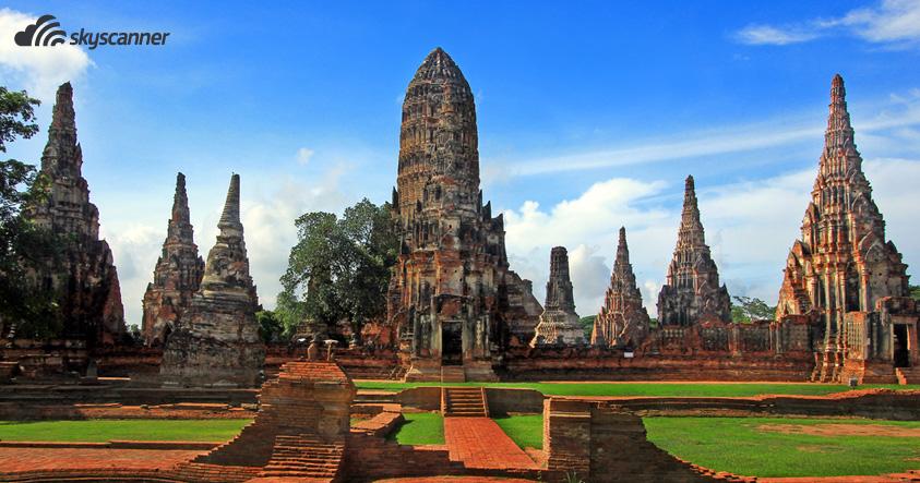 Wat Chaiwattabaram, Ayutthaya, Thailand