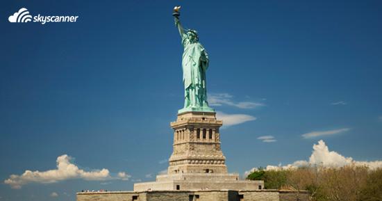 อนุสาวรีย์เทพีเสรีภาพ (Statue of Liberty)