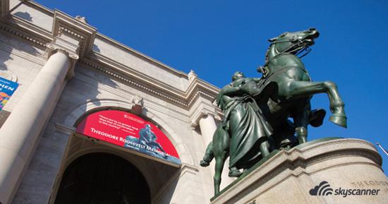 พิพิธภัณฑ์ประวัติศาสตร์ธรรมชาติอเมริกัน (American Museum of National History)